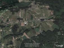 Zdjęcie satelitarne Zbychowa
