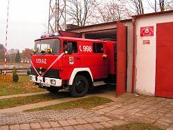 IVECO - wóz strażacki